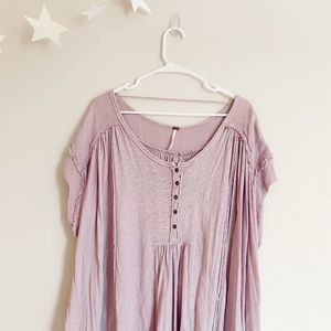 Free People Flowy Top